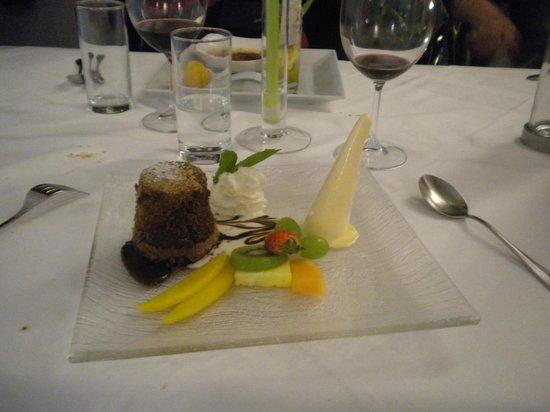 Restaurant Entler: tortino di cioccolato