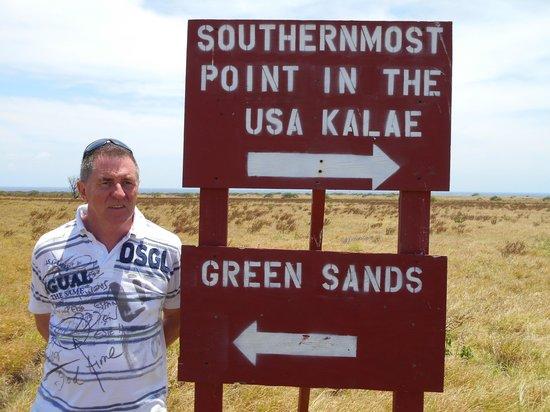 South Point (Ka Lae) y playa Papakolea: sud