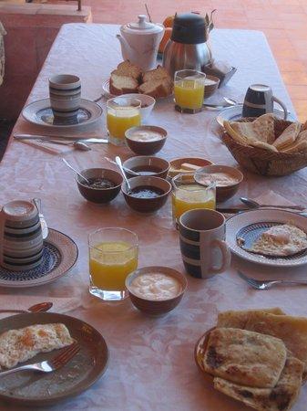 Riad Reves D'orient: Petit déjeuner