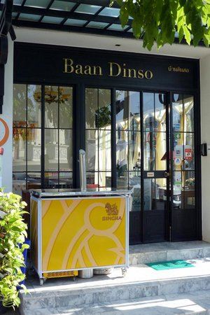 Baan Dinso @ Ratchadamnoen: Baan Dinso sign