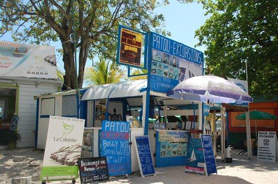Patou Excursions: le kiosque de Patou