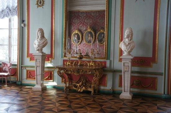 Kuskowo-Ensemble: Кусково. Летний дворец Шереметьевых. Интерьер.
