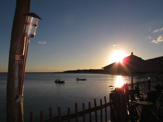 Club Med Cancun Yucatan : Coucher de soleil sur Casuelas