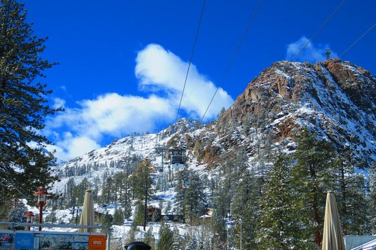 Squaw Valley Ski Area: The Tram