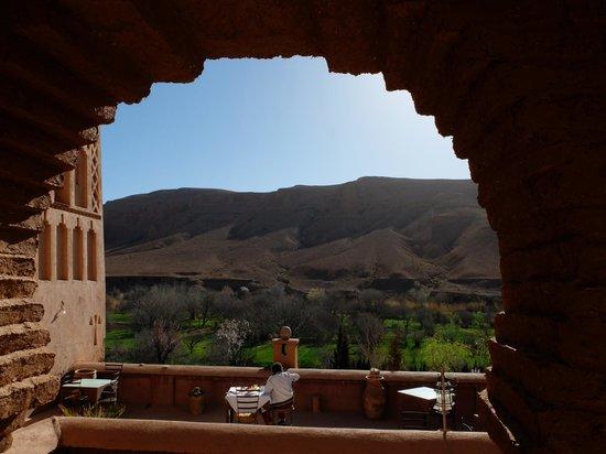 Dar Jnan Tiouira: sur la terrasse