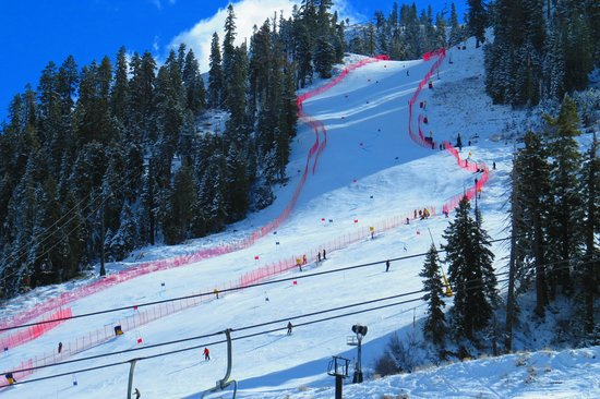 Squaw Valley Ski Area: Good Cover but Reserved !