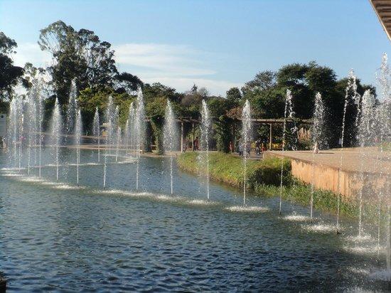 Parque das Mangabeiras: O lago