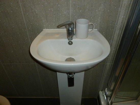 Abercorn House: Lavandino (bagno privato)