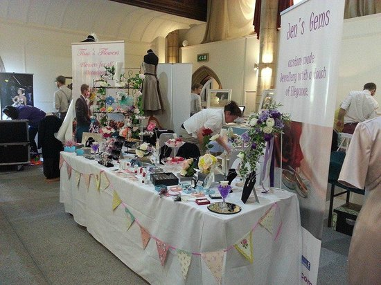 The Alverton: wedding fair in the great hall