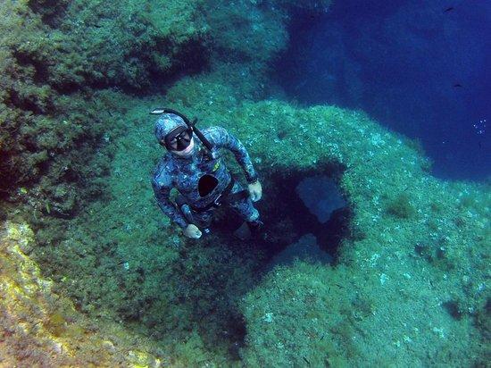 One Breath Freediving: Freediving at Cirkewwa