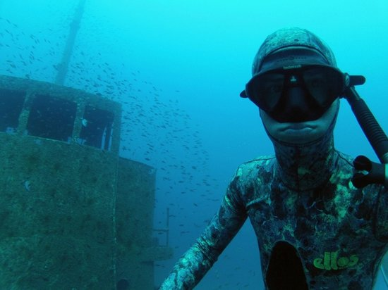 One Breath Freediving: Wreck 'Rozi'