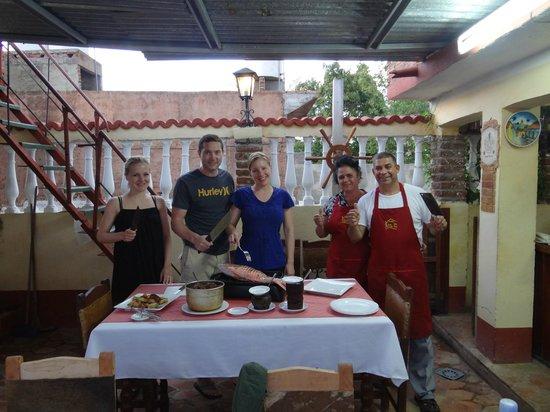 Hostal Casa Mia: Ernesto & Belkis