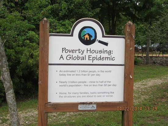 Global Village and Discovery Center: Educational sign