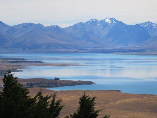 Lake Tekapo Lodge: Lake Tekapo from Mount John Observatory