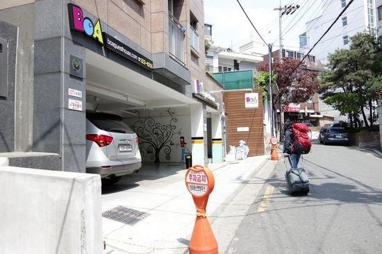Boa travel house: Entrance to BoA Guesthouse