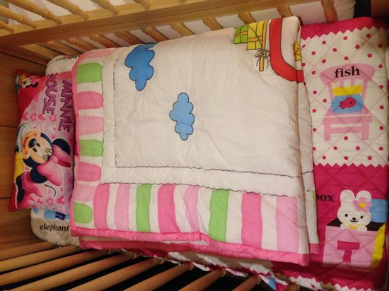 Golden Seoul Hotel : Baby cot