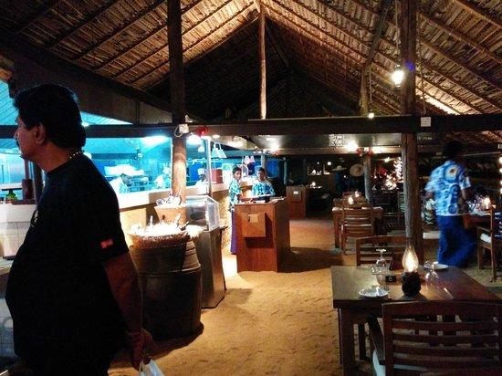 Mount Lavinia Hotel: Seafood restarant