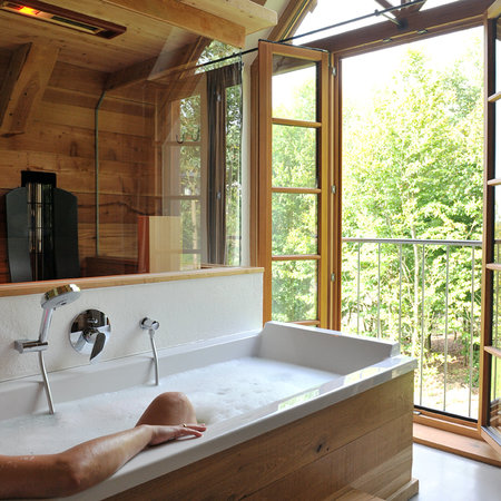 Bergdorf LiebesGruen : Bad mit Aussicht