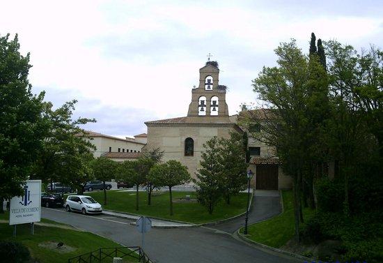 Castilla Termal Balneario de Olmedo: Exterior del hotel