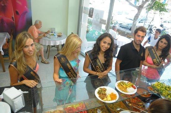 Hanimeli Restaurant : Güzeller bizdeydi...