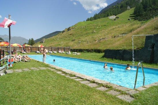 Thermal-Badhotel Kirchler: Das Thermalbad im Freien