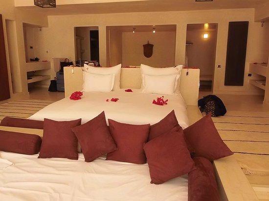 Hôtel Dar Sabra Marrakech : Hôtel DAR SABRA chambre