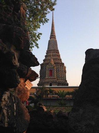 Wat Arun (Tempel der Morgenröte): awesome view