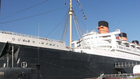 The Queen Mary : View from dock
