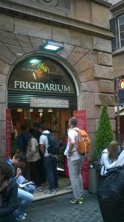 La Gelateria Frigidarium : Le Paradis est juste là...