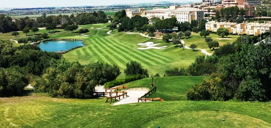 Barceló Montecastillo Golf: View from 18th Yellow Tees