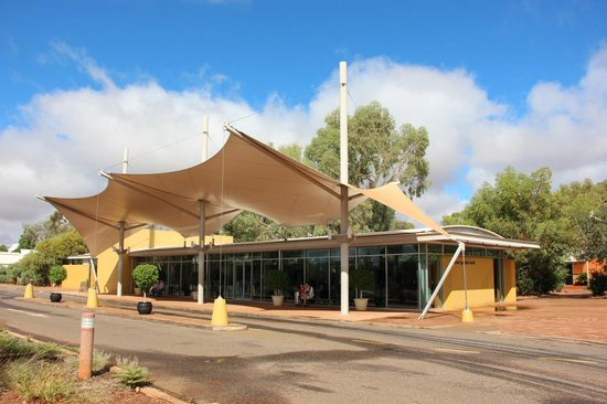 Desert Gardens Hotel, Ayers Rock Resort: Rezeption