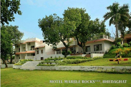 Bhedaghat, Индия: Motel Marbel Rocks, Bedaghat