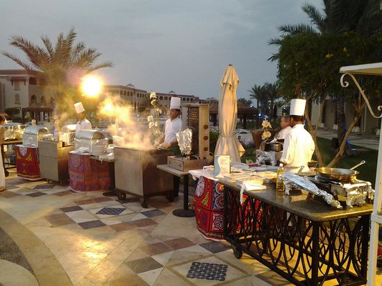 SENTIDO Mamlouk Palace Resort: Soirée Egyptienne