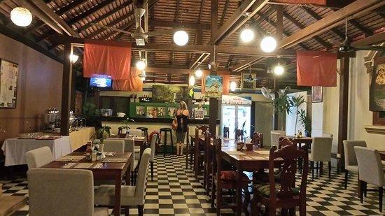 Tanei Boutique Villa: Restaurant