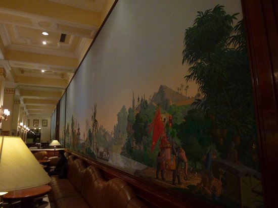 The Imperial Hotel: Mural in 1911 Restaurant
