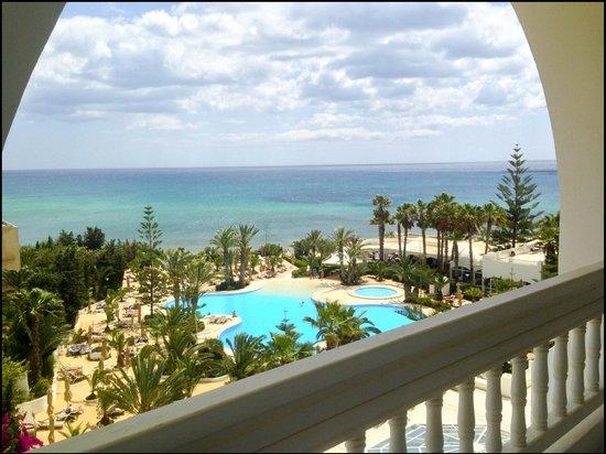 SENTIDO Aziza Beach Golf & Spa: Our room with a view