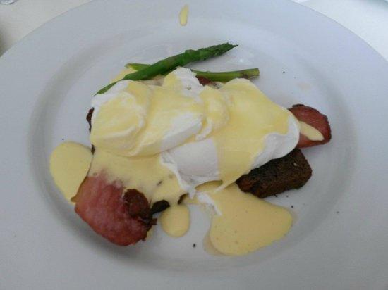 65 on Main: Eggs benedict