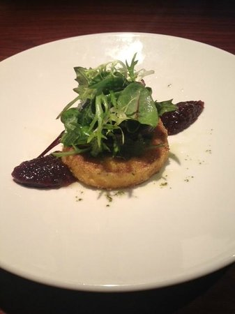 The Lime House: Pan-fried Goats Cheese