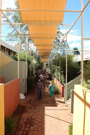 Desert Gardens Hotel, Ayers Rock Resort: Hotelanlage