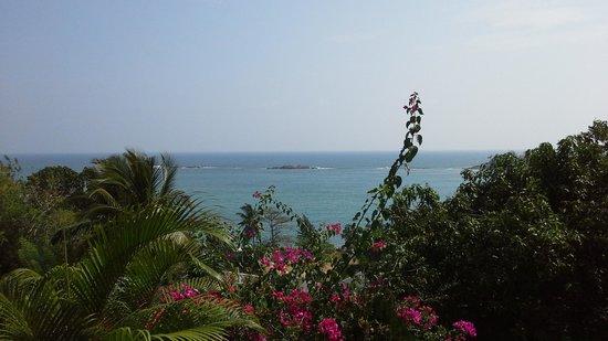 Hotel Panorama: Ausblick von den Cabanas