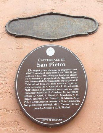 Hotel Albergo Atlantic: San Pietro Cathedral