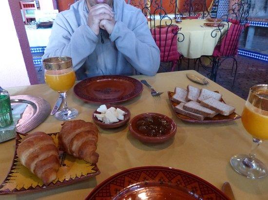 Riad du Pêcheur Safi : petit déjeuner