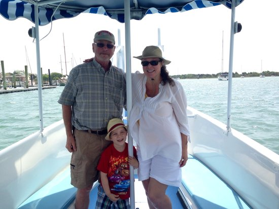 Waterbug Tours: I meet the nicest people on the Waterbug