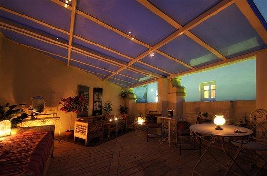Hotel Argantonio: Terraza