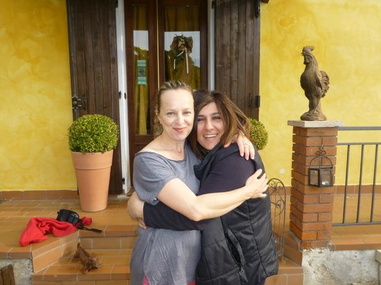 B&B Gallo delle Pille: Me & Michela