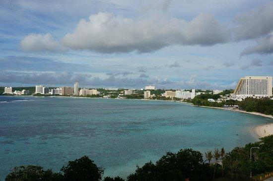Hilton Guam Resort & Spa: プレミアタワー887眺め