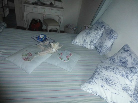 B&B Gallo delle Pille: Bed arrangement daily