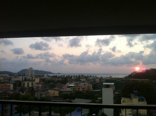 Casa Del M, Patong Beach: View from our Balcony