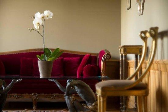 La Maison de Lucie: 2階のスウィート一泊300ユーロ朝食付き