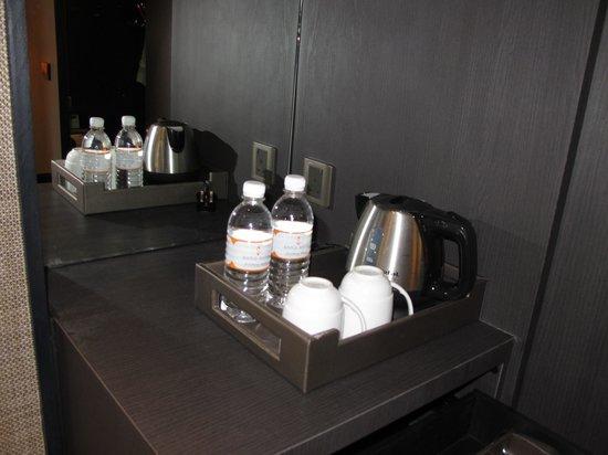 Sama-Sama Hotel: Complimentary drinks (coffee, tea, water)